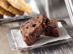 Image of a Triple Chocolate Brownie